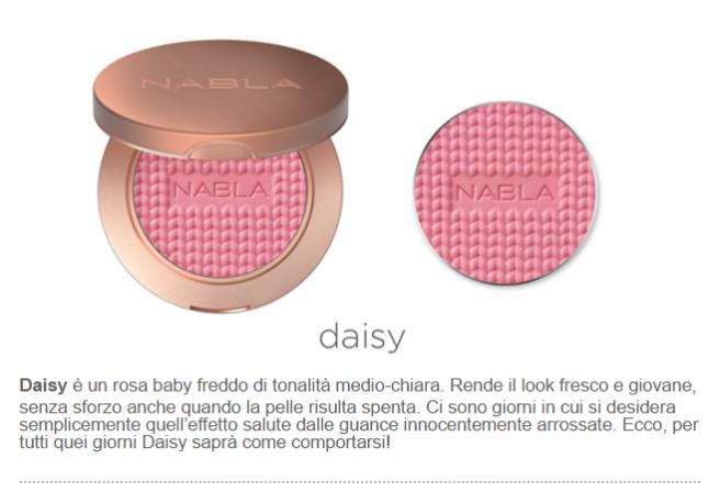 daisy blush nabla