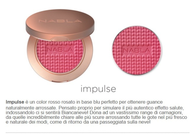 impulse blush nabla