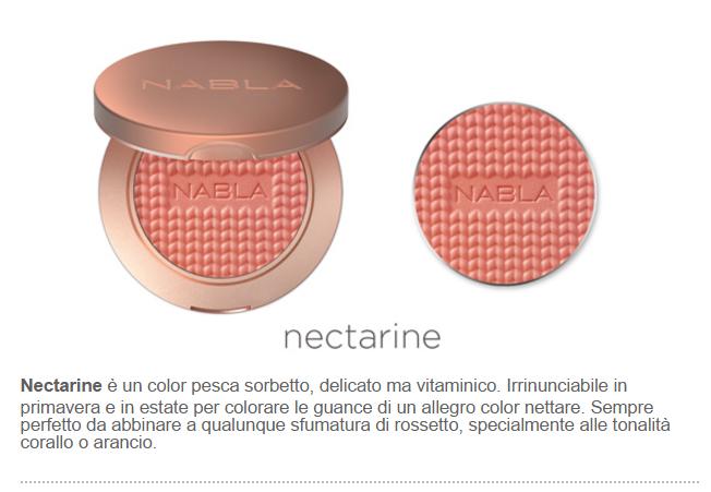 nectarine blush nabla